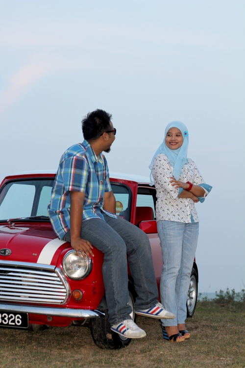 wedding-photogrpaher-kuantan-wali-mini-cooper-2