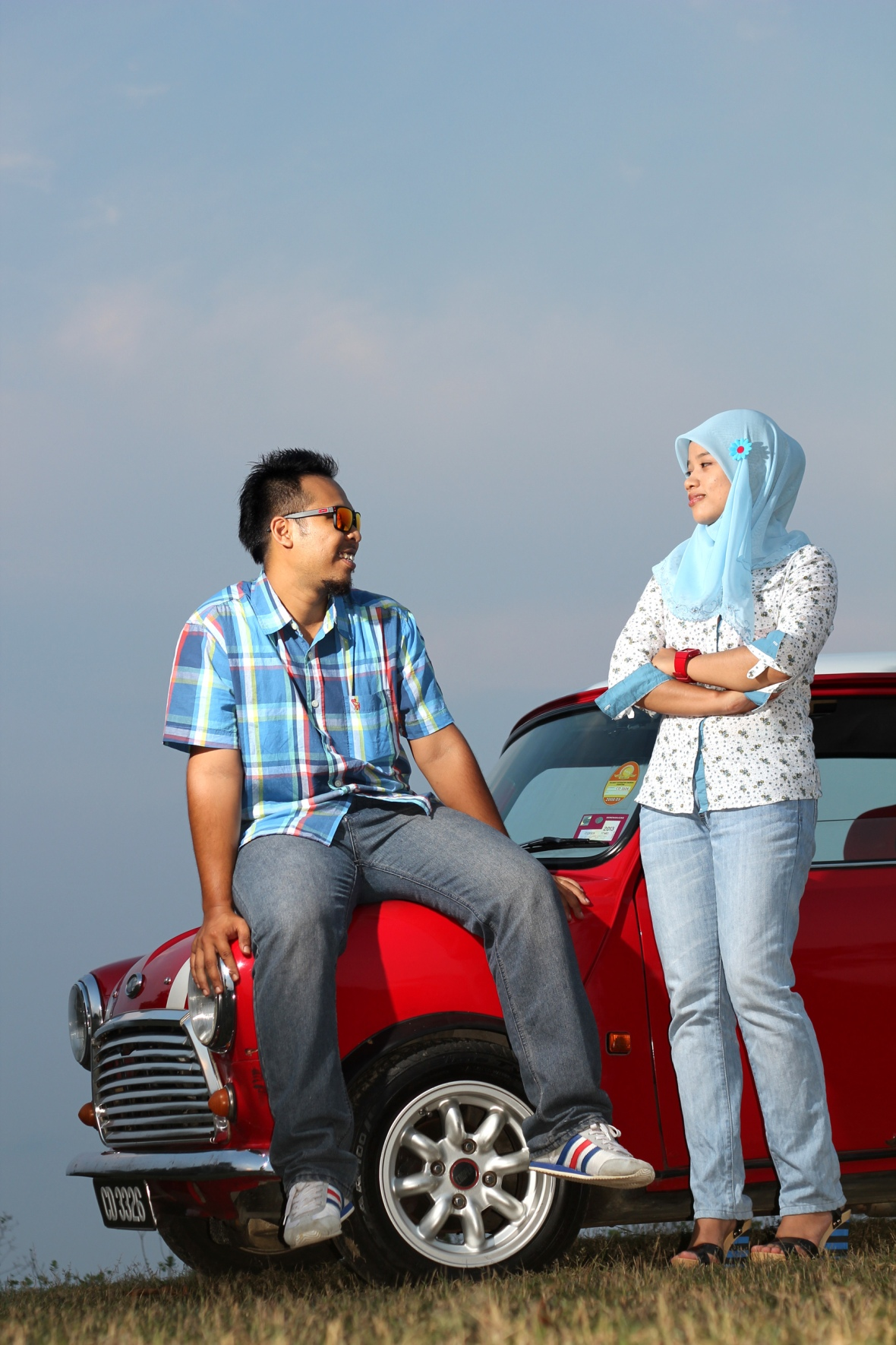 wedding-photogrpaher-kuantan-wali-mini-cooper